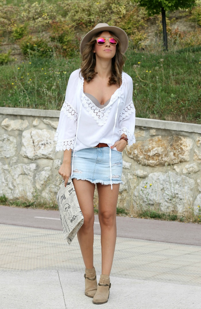 Chic Hippie And Blusa Ibicenca Look Boho 1zqcZXxAw
