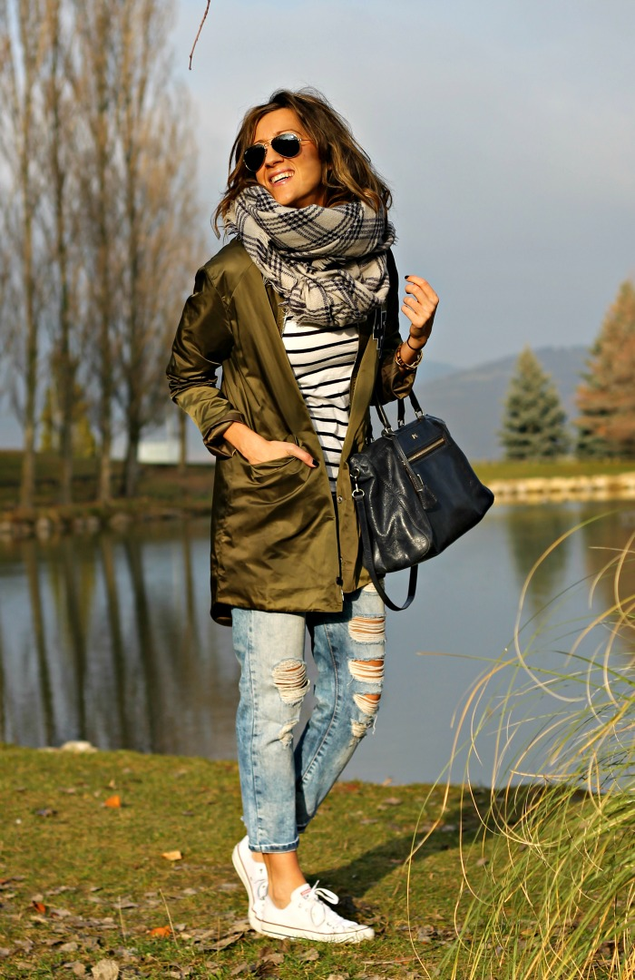 Chic COMBINAR and MILITAR Look 3 CHAQUETA VERDE CLAVES PARA qwvwxHSap