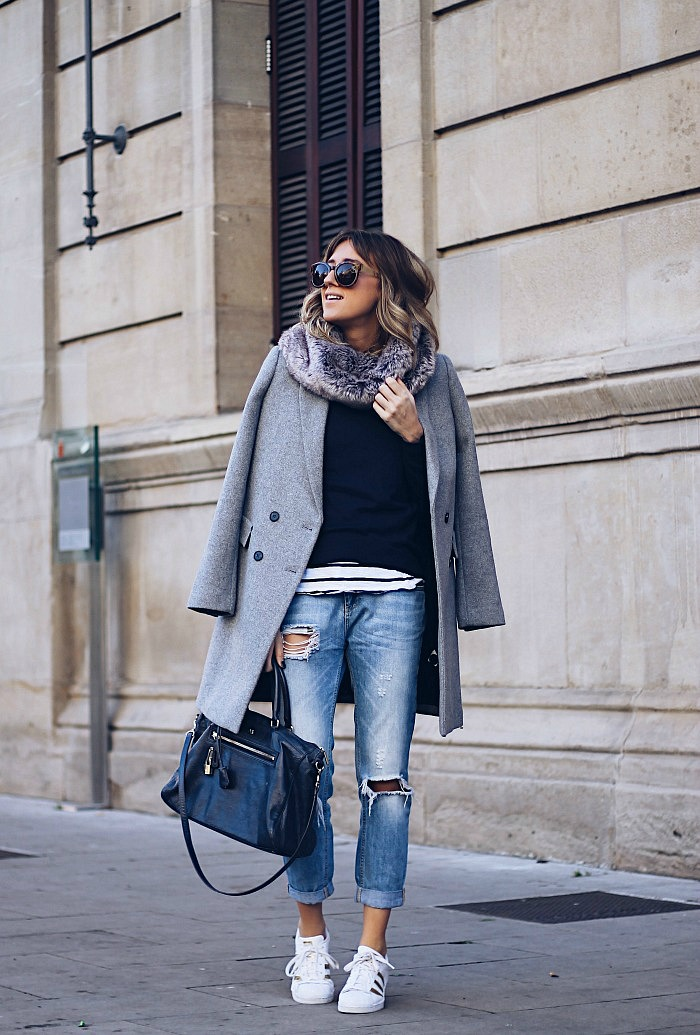4dc4f98d01 CÓMO VESTIR CON JEANS  9 LOOKS INSPIRACIÓN - Look and Chic