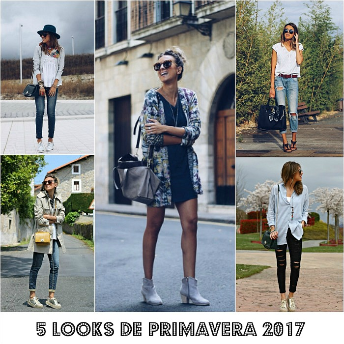 6ecb1c4304 5 LOOKS DE PRIMAVERA 2017 PARA INSPIRARTE - Look and Chic