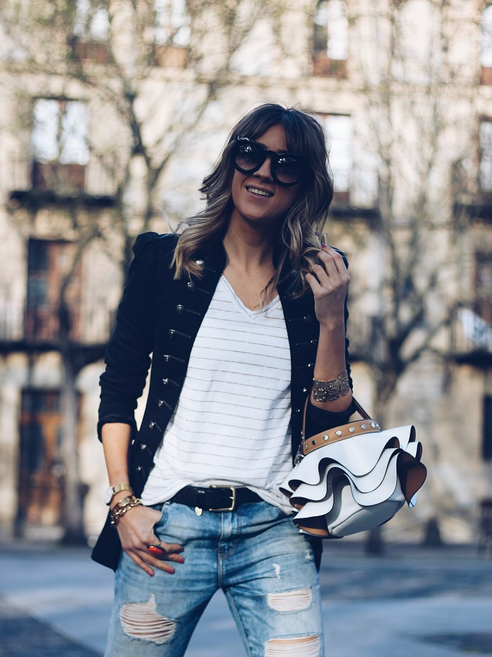 3 LOOKS Cu00d3MO COMBINAR UN BLAZER NEGRO - Look and Chic