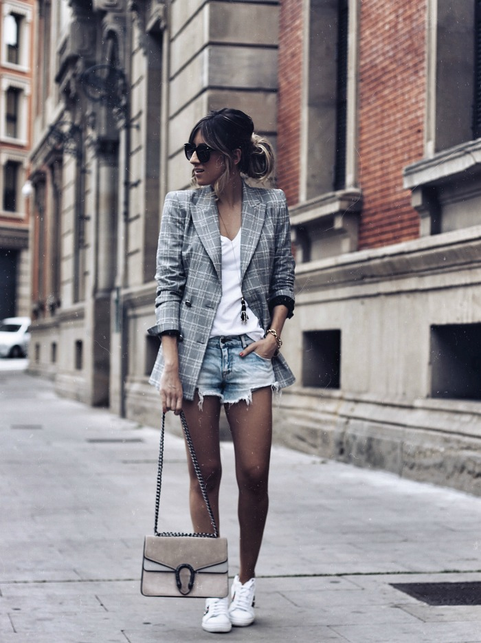 LOOK CON SHORTS VAQUEROS