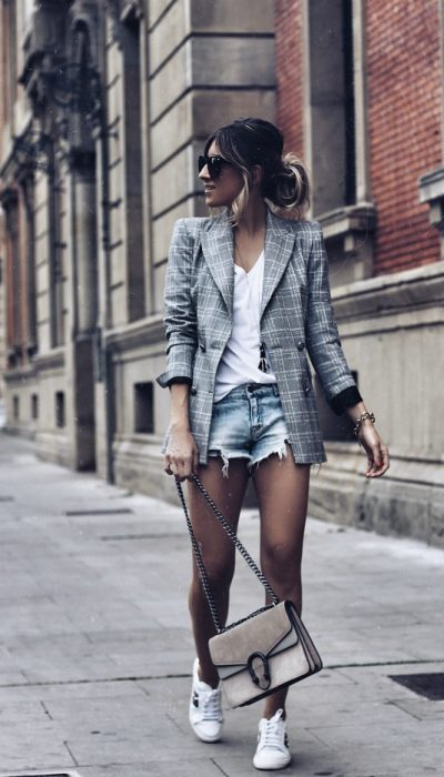 LOOK CON SHORT VAQUEROS
