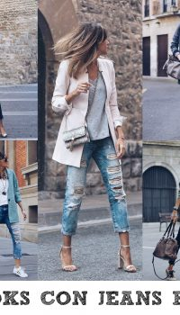 LOOKS CON JEANS ROTOS