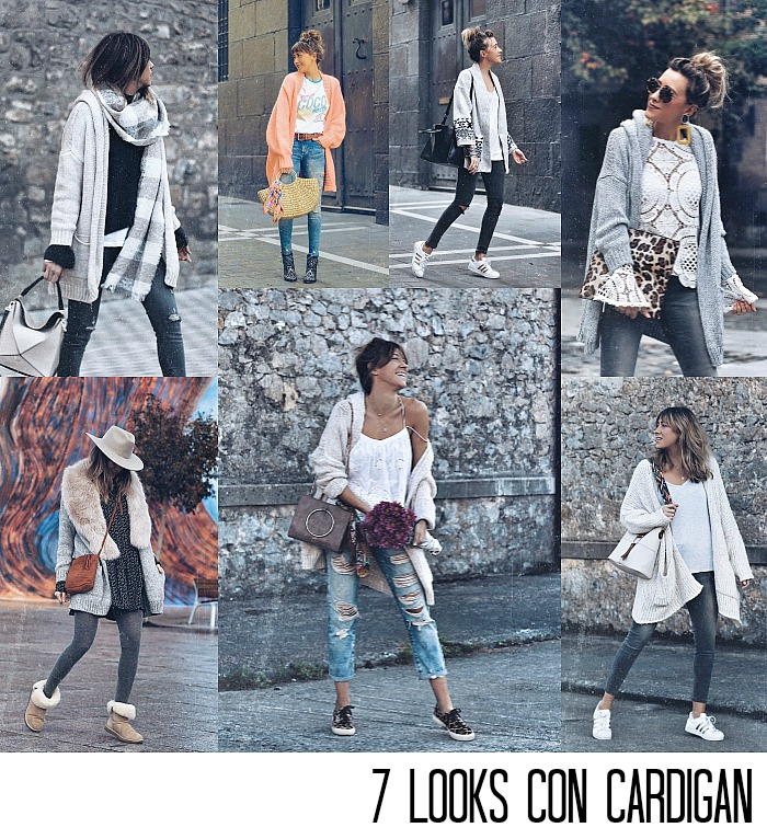 LOOKS CON CARDIGAN